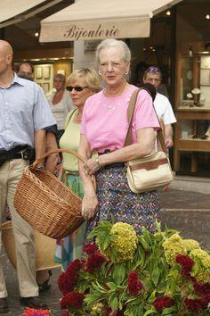 Queen Margrethe II in France