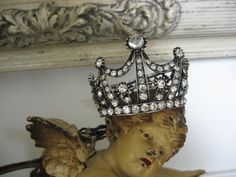 Though his crown was often sideways, it still always remained on his regal heavenly head....