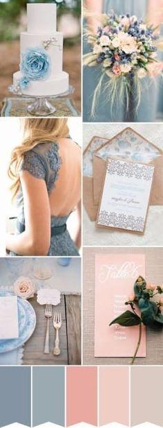 Planejando o casamento dos sonhos: paleta de cores 2