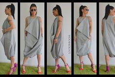Grey maxi jumpsuit /Oversize sleeveless jumpsuit /Casual Loose Oversized Gray Top /innovative Jumpsuit / plus size jumpsuit by ClothesByLockerRoom on Etsy https://www.etsy.com/uk/listing/210706674/grey-maxi-jumpsuit-oversize-sleeveless