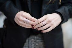 Eat Sleep Wear, wearing the #ALEXMIKA Stacked X Ring | alexmikajewelry.com