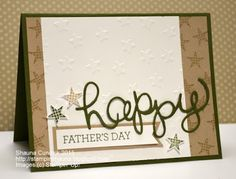 Stampin' Up! Father's Day Stars