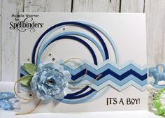 It's a boy card by Michelle Woerner