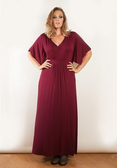 77b34abea5 Joan Maxi Dress. Plus Size ...