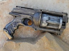SO cool!! Steampunk Gun Prop Nerf Maverick Victorian by SimpleDiversions, $21.00