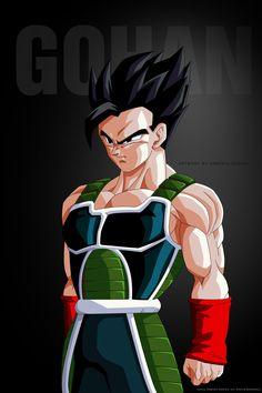 Dragon Ball Z Ultimate Gohan by altobello02 on @DeviantArt