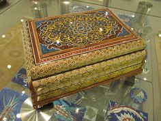 Decorated Jewellery / Trinket Box
