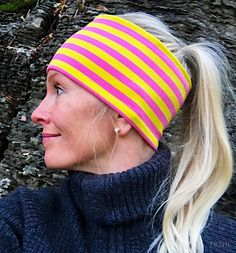 Haxby pannebånd / panneband / headband