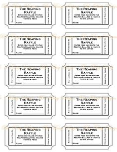 free ticket template for microsoft word