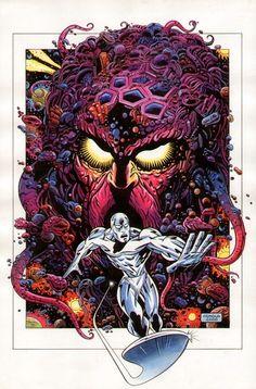 Giorgio Comolo - Silver Surfer Comic Art