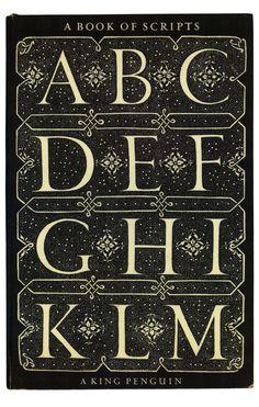 A book of scripts