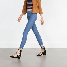 LACE UP HEELED SHOES-High-heels-Shoes-WOMAN | ZARA United States