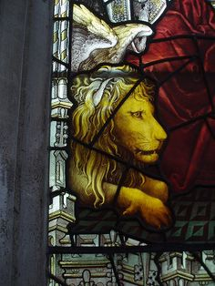 Lion of St Mark, St Mary's, Oxford