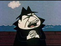 Rocky and Bullwinkle - Minisode 9 Classic Cartoon Characters, Classic Cartoons, Cartoon Tv, Cartoons Love, Old Cartoons, Animated Cartoons, Saturday Morning Cartoons, Bible Prayers, Old Shows