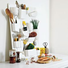 Putting the Vitra Uten.Silo by Dorothee Becker to good use / Available to buy at Nest.co.uk