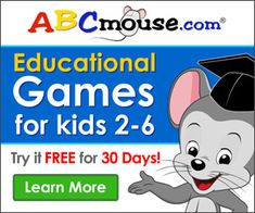 FREE Month Trial Offer at ABCmouse.com – Educational Games for Children!