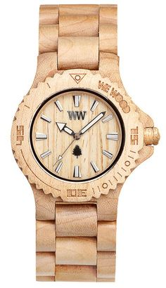 """I get asked about my watch very often... Very often. If you wear one you should definitely try to remember what wood it's made from. """"Tree wood"""" while not being altogether incorrect, is apparently not an acceptable answer."""