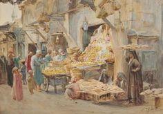 Walter Frederick Roofe Tyndale - חיפוש ב-Google A Bustling Souk