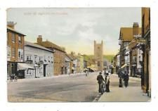 NICE ANIMATED PRINTED POSTCARD OF HART STREET HENLEY-ON-THAMES OXFORDSHIRE