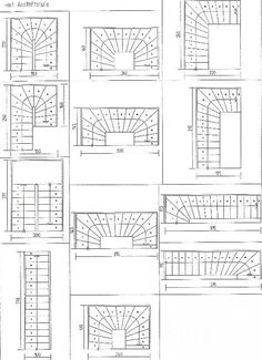floorplans- Grundrisse Unfortunately, not all architects and house planners observe the rules for the layout of stairs. So it always comes back to not optimal stairs. Attic Staircase, Attic Ladder, Attic Loft, Attic Rooms, Staircase Design, Attic Bathroom, Attic Library, Attic House, Attic Window
