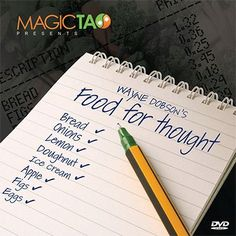Food For Thought by Wayne Dobson and MagicTao - Trick