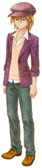 Cam. A new Harvest Moon is coming out and Camwill be one of the bachelors in it. He will look like this ^_^