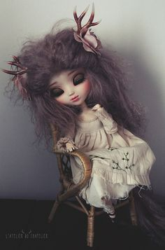 Raggedy Girl - L'Atelier Du Chapelier by Holly Hatter on Flickr.