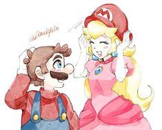 Mario Fan Art, Mario Bros., Mario And Luigi, Mario Kart, Mundo Super Mario, Super Mario Bros, Super Smash Bros, Peach Mario, Mario And Princess Peach