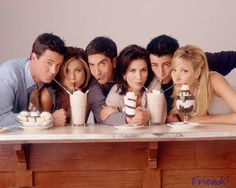I can see F.R.I.E.N.D.S episodes again and again and never ever get bored!* I smile and cry everytime :)
