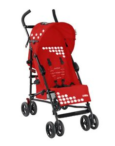 Mia Moda Facile Umbrella Stroller, Red