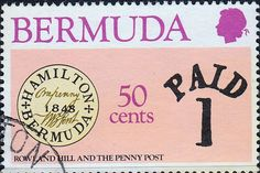 Bermuda 1979 Sir Rowland Hill Set Fine Mint  SG 413/6 Scott 389/92  Other Bermuda Stamps HERE