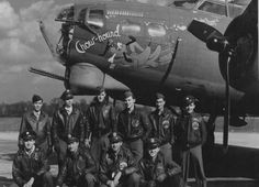"B-17 ""Chow-hound"" and Crew"