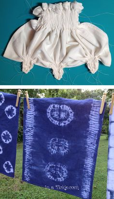 Last fall I purchased a beautiful silk scarf from a crafter. As we visited, she told me she dyed the scarf using the shibori method. Well, that was a new word for me and after explaining quickly ho…