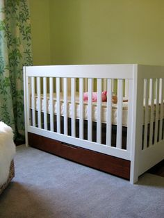 Crib option - I let Sherry from younghouselove blog do the homework.....this one is affordable and eco-friendly......works for me!