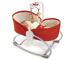 3-in-1 Rocker Napper - RED - Baby Gear