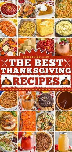 Plan the ultimate feast with the BEST Thanksgiving dinner recipes! Here, you'll find an assortment of appetizers, side dishes, main dishes, desserts, and cocktails. Complete your menu with the perfect… Thanksgiving Dinner Recipes, Thanksgiving Green Bean Casserole, Thanksgiving Green Beans, Holiday Recipes, Cranberry Orange Relish, Best Pecan Pie Recipe, Main Dishes, Side Dishes, Pumpkin Fudge