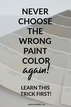 never choose the wrong paint color again - choose perfect neutral
