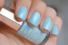 Mavala - 181 Blue Mint #nailpolish