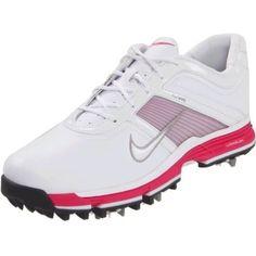 New-Nike-Golf-Womens-Lunar-Links-Golf-Shoe-White-Metallic-Silver-8-M-US #GolfShoes #2ndSwingGolf