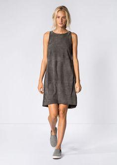 Kleid lead grey