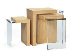 Three Way Nesting Tables Ted Boerner