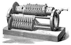 mechanical calculating machine . George B. Grant . 1877