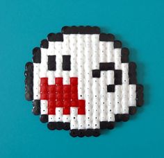 Boo the ghost from Mario hama bead accessory, decoration, gift - GEEK CHIC COOL on Etsy, $5.19 CAD