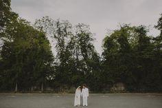 Bride Groom Bridal portraits. Lauren + AJ Backyard Indie Bohemian Long Island DIY Wedding. Dress and veil: Lindsey Thornburg. Shoes: Raphaella Booz. Photographer: Chellise Michael Photography in Brooklyn, NYC