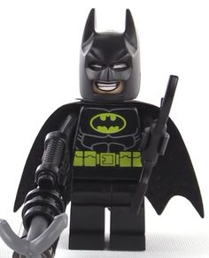 Headgear Cowl // Mask for Batman New Style - Black Minifig LEGO BATMAN