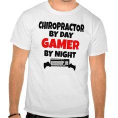 Gamer Chiropractor T Shirt, Hoodie Sweatshirt