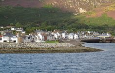 Ullapool, Scotland  - my all time favourite village to stay in. Sleepy fishing village on the NW coast. Over 50 miles from any major town or city. :-) it was our first stop on our road trip in the Highlands.