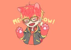 Meow~ It's cat Seven here~