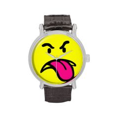 Grrr Time - Classic Vintage Leather Watch