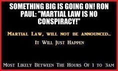 Warning: The Establishment Is Preparing For Martial Law And Civil War (Videos)